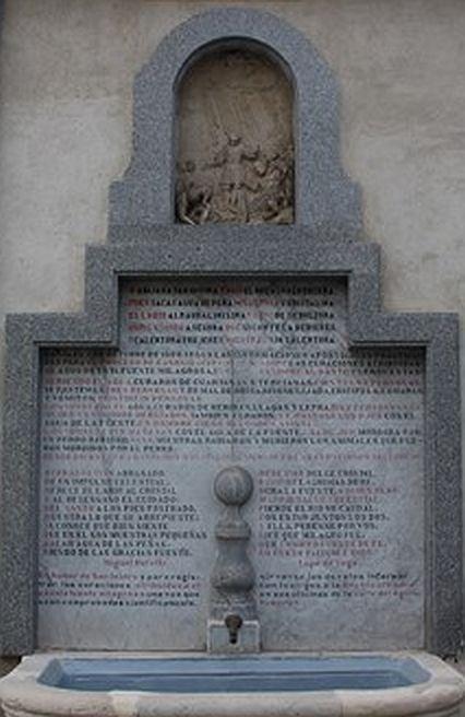 Fuente en Ermita San Isidro
