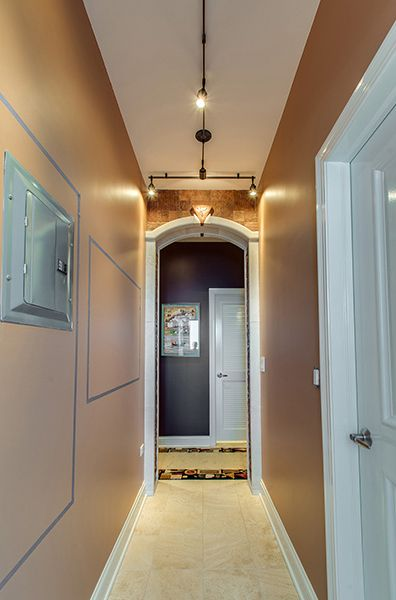 lighting ideas for hallways. monorail can be used to elongate a hallway with rebel unique lighting idea ideas for hallways