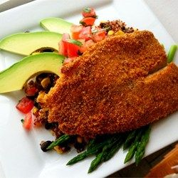 Baked Parmesan Tilapia - Loved This! I omitted the ranch dressing and I loved it!! Delicious and easy!