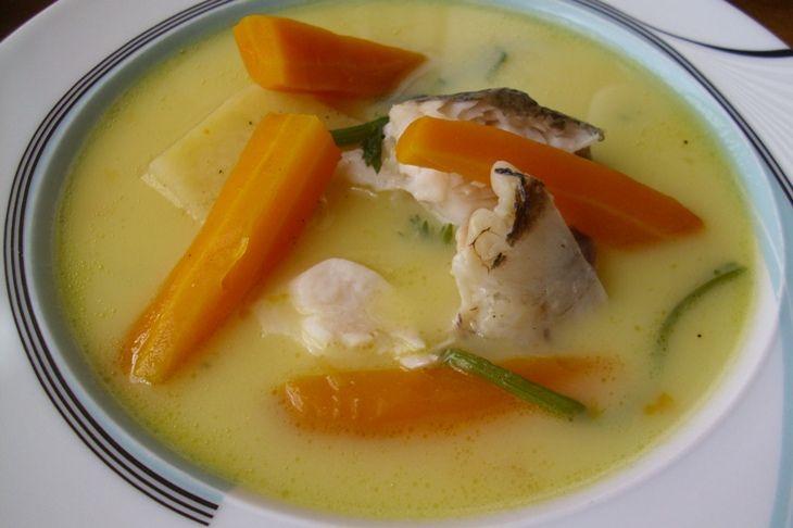 Ψαρόσουπα αβγολέμονο