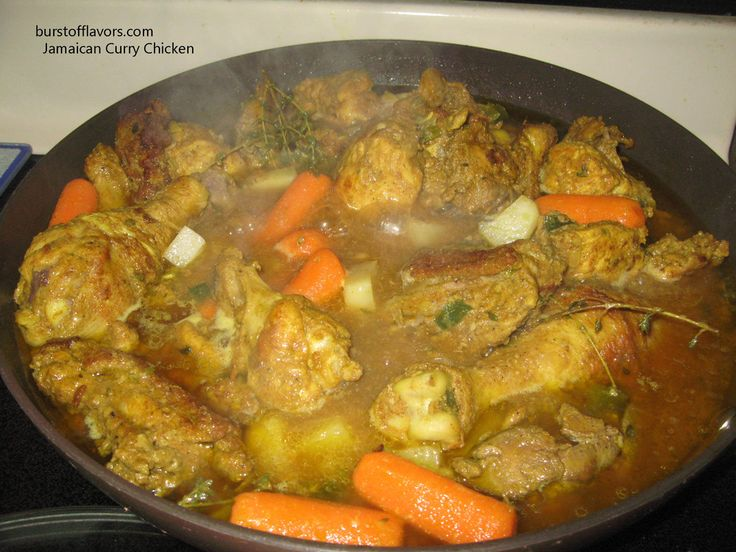 Authentic jamaican curry chicken wicked jamaican for Authentic caribbean cuisine