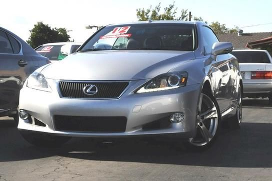 Convertible, 2012 Lexus IS 250C with 2 Door in Westminster, CA (92683)