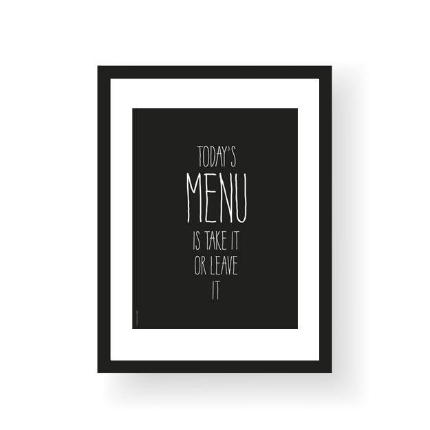 Morsom plakat til kjøkkenet.Format 30 x 40 cmTrykket på 250 g ubestrøket papirSelges uten ramme.Funny poster for you kitchen.Poster size 30 x 40 cmPrinted on 250 g uncoated paperSold without frame.