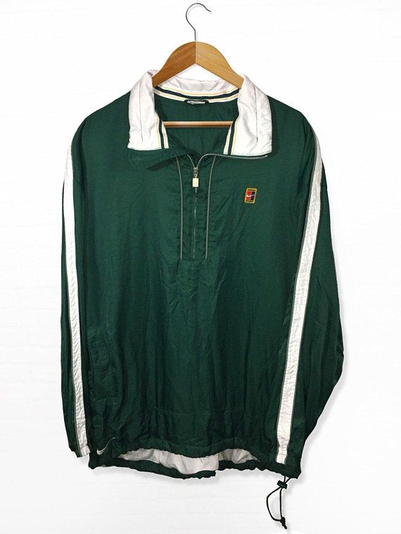 Vintage Nike Supreme Court Challenge Windbreaker Jacket Agassi Tennis Size  XXL 11ecb8ae3