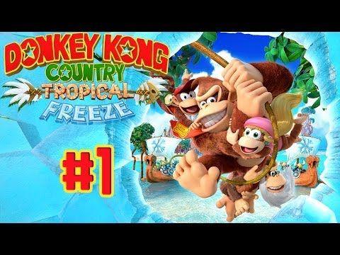 Donkey Kong Country : Tropical Freeze est un jeu de plates-formes [sur Wii U], le premier en HD dans l'histoire de la série. Dans cet épisode, la famille Kong lutte contre les Vikings, envahisseurs venus des mers du nord. Le joueur doit ainsi traverser les niveaux de six îles différentes, en solo ou en coopération. En plus de Donkey et Diddy, Dixie et Cranky sont jouables.