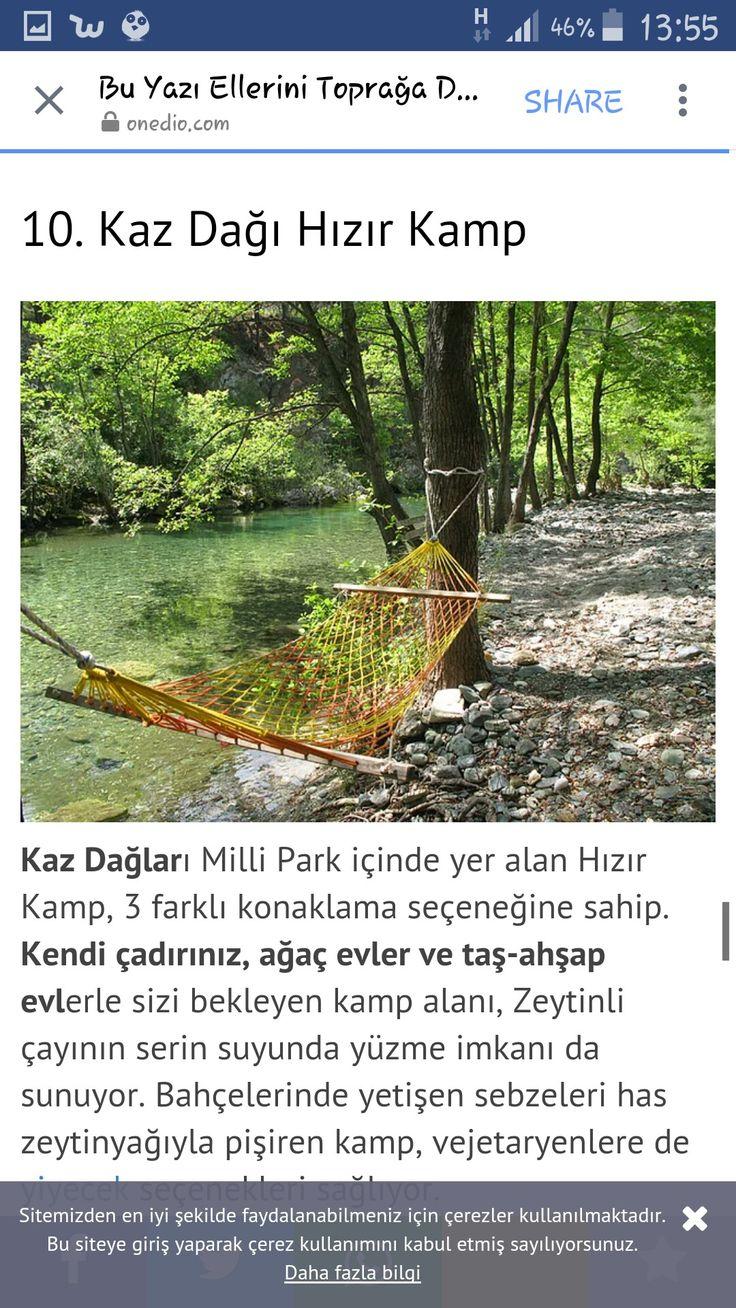 Kaz Dağı Hızır Kamp.