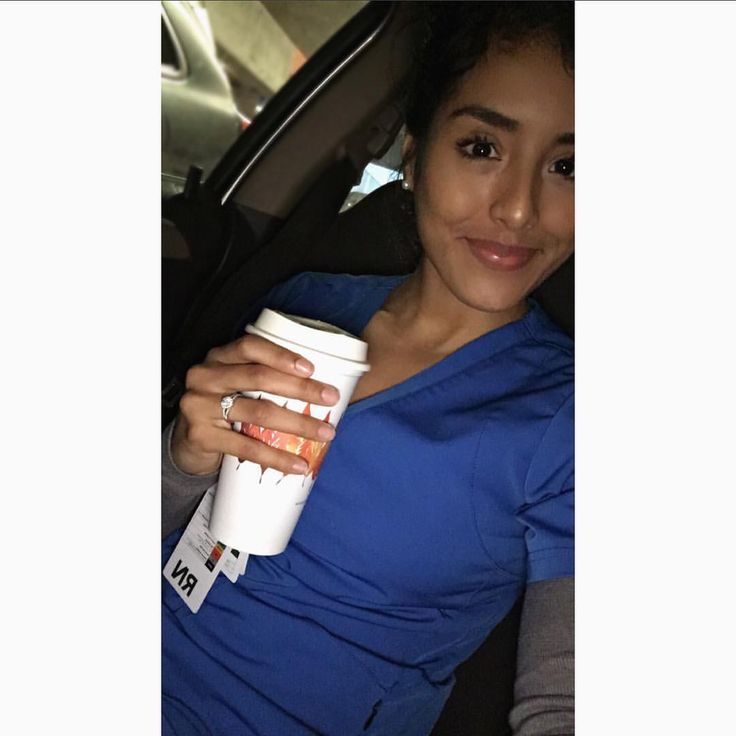 """784 Likes, 12 Comments - Areli Mancillas, RN ☤ (@areli_mancillas) on Instagram: """"7 am mornings call for @starbucks. Happy Hump Day! Wearing @wonderwinkscrubs ⚕️ On lecture days,…"""""""