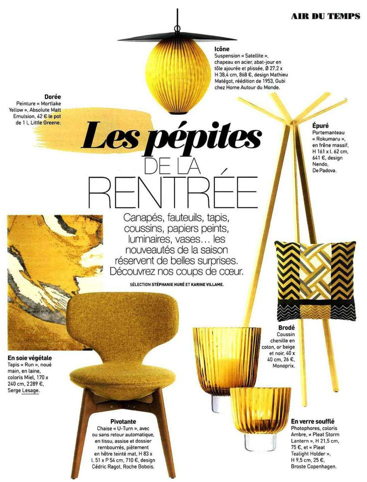 Our rug 'RUN' enhanced in the last issue of the famous French Interior Design Magazine 'ART et DECORATION' ! Thank you Stéphanie Huré and Karine Villame