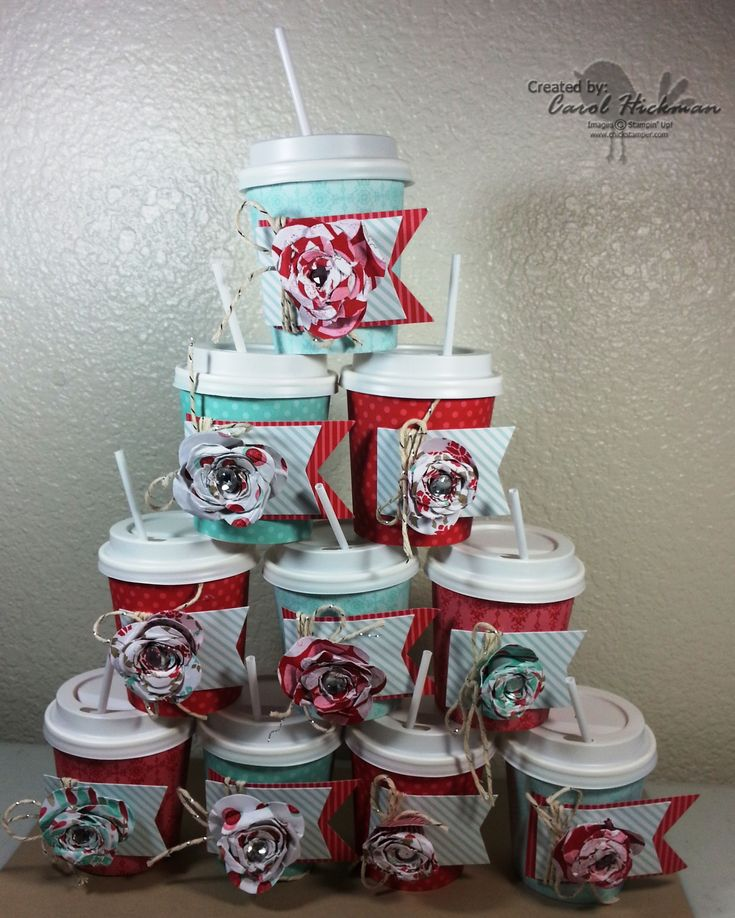 148 best Crafts Mini Cups images on Pinterest  Mini coffee cups