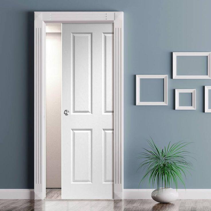 Single Glass Pocket Doors