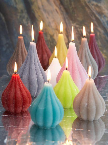 Onion Candle Collection - colors - colours - kleuren