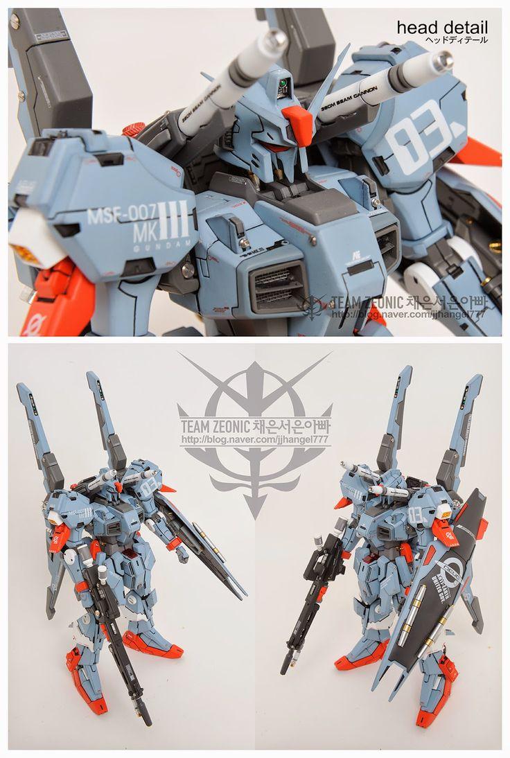 GUNDAM GUY  RE 100 MSF 007 Gundam Mk III   Customized Build
