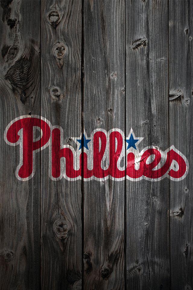 Philadelphia Phillies iPhone Wallpaper Background MLB
