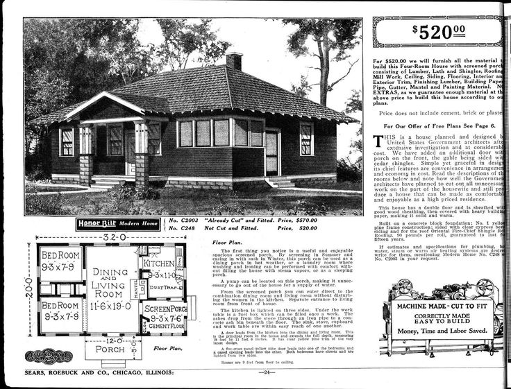 17 Best images about Sears Catalog Homes on Pinterest | Dutch ...