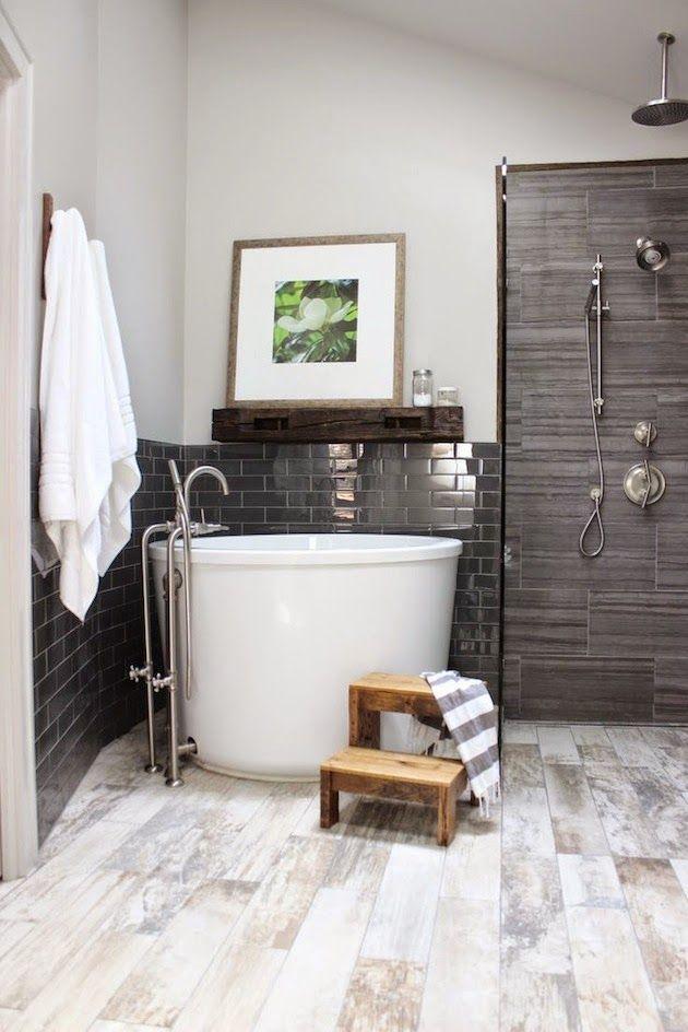 Tina De Baño Japonesa:Sherry Hart Bathroom