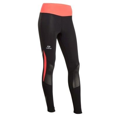 RUNNING Running Vêtements - COLLANT KANERGY  NOIR ROSE KALENJI - Vêtements