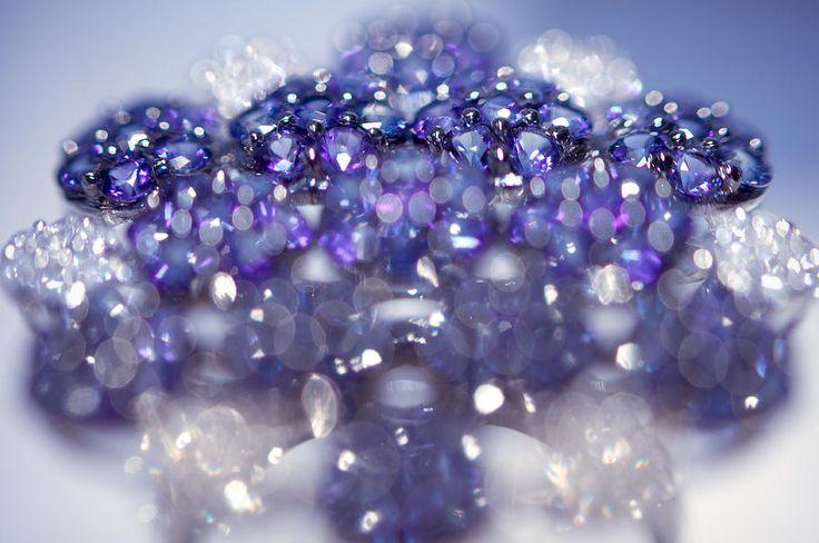 Sapphire Brooch. Spirit Of Treasure by Jenny Rainbow