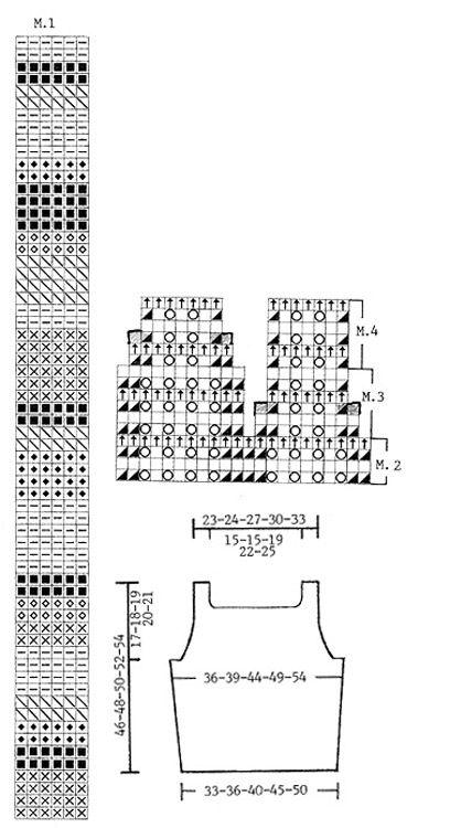 Randig DROPS topp i Safran med vågmönster Gratis mönster från DROPS Design.