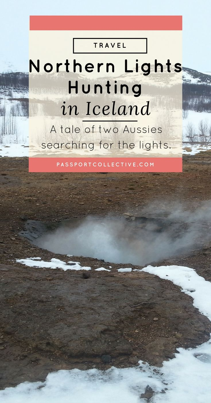 Europe, Scandinavia, Iceland - A tale of two Aussies searching for the northern lights in Iceland.