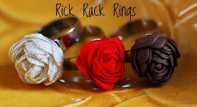 Maize Hutton: Rick Rack Rings DIY