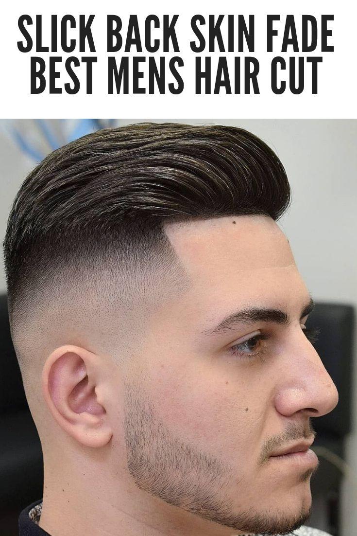 Dein Nachster Haarschnitt 48 Slick Back Fade Frisuren Welcher