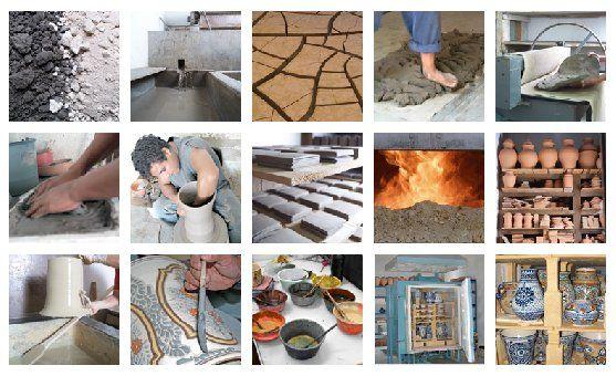 Pottery making at Talavera de la Luz www.talaveradelaluz.com