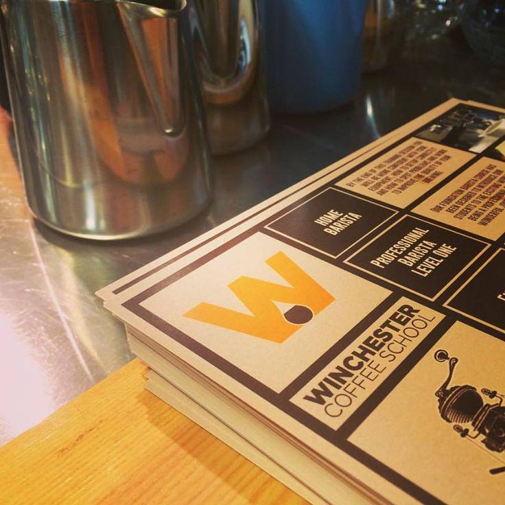 Winchester Coffee School flyers