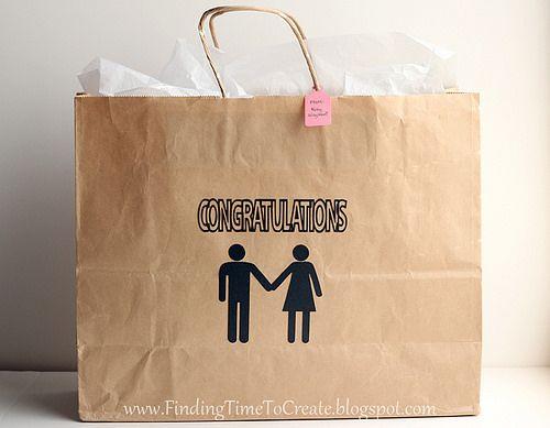 gift bag wedding  #silhouettedesignteam