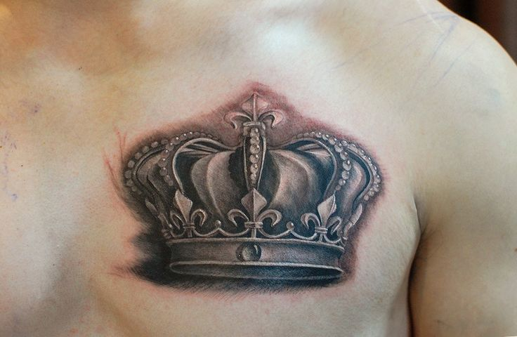 Chronic Ink Tattoo, Toronto Tattoo - Crown tattoo by Dom,, Check out our