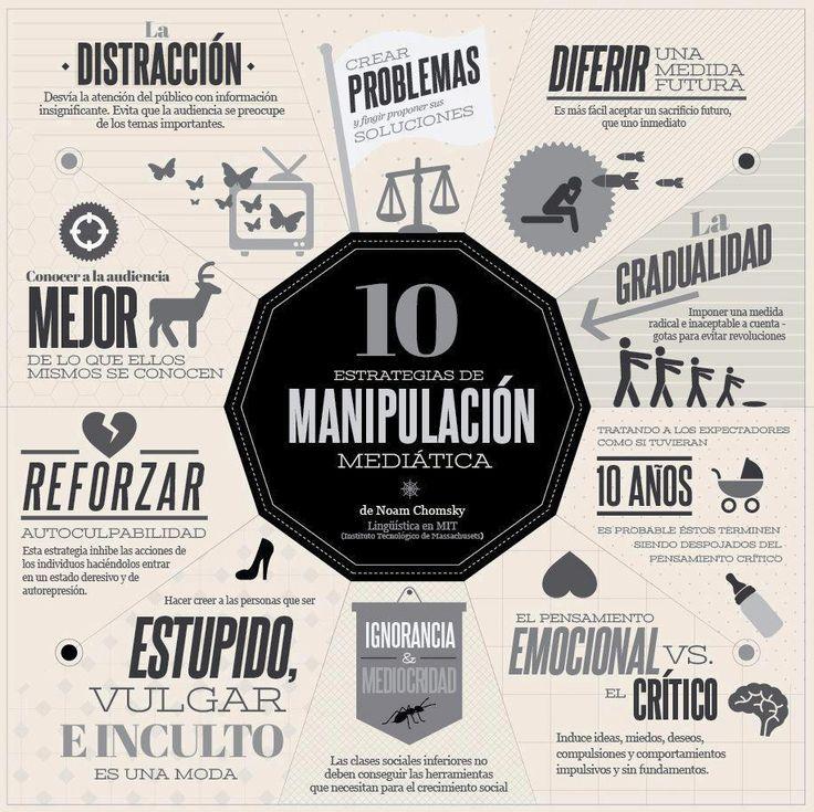 10 estratégias de manipulación mediatica