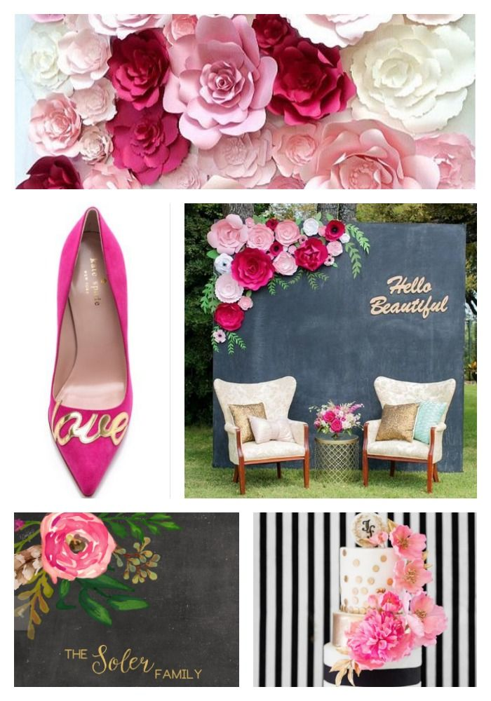 Kate Spade Inspired Event Wedding Ideas The