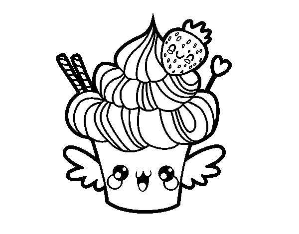 Printable Cupcake Coloring Pages Cupcake Coloring Pages Cute