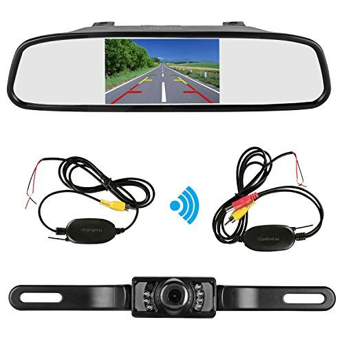 LeeKooLuu Wireless Backup Camera and Mirror Monitor Kit 9V-24V Rear view camera Parking system Waterproof Universal Night Vision for Car/Vehicle/Truck/Van/Caravan/Camper LKL-18 Review https://vehicledashcam.review/leekooluu-wireless-backup-camera-and-mirror-monitor-kit-9v-24v-rear-view-camera-parking-system-waterproof-universal-night-vision-for-carvehicletruckvancaravancamper-lkl-18-review/