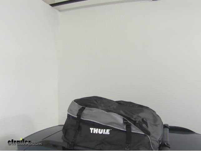 Thule Interstate Rooftop Cargo Bag   16 Cu Ft Thule Roof Cargo Carrier TH869