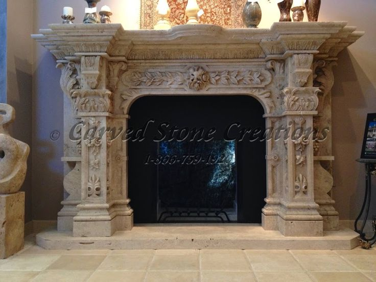 Travertine Stone Fireplace Designs : Best fireplaces images on pinterest stone