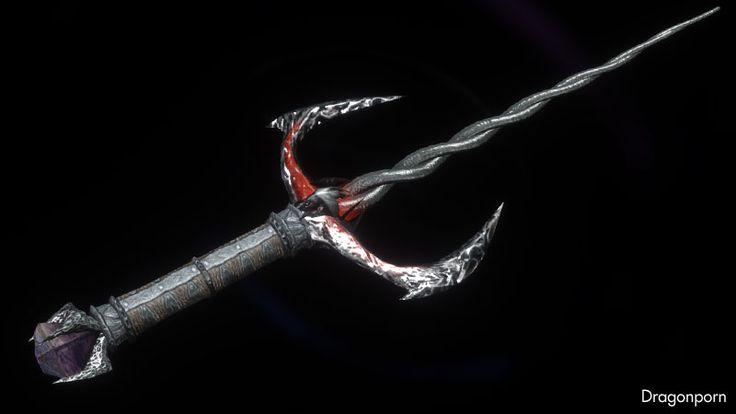 Daedric sai weapon : DRAGONPORN