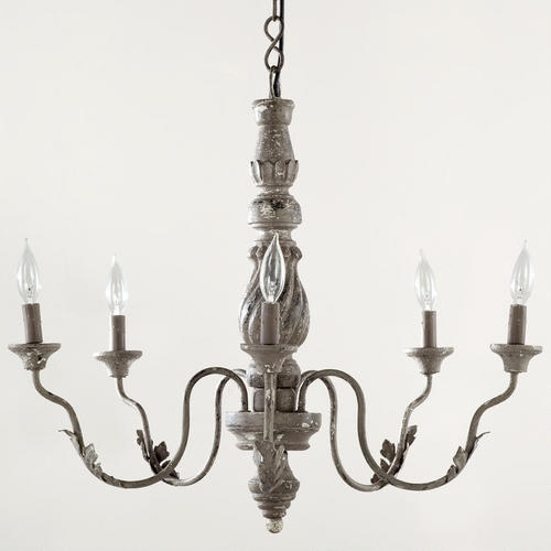Cost Plus World Market - Grey Vintage Chandelier - Victorian Isles Collection >> #WorldMarket