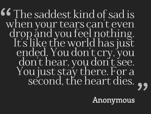 65+ Depressing Quotes About Love And Life: Short Sad Quotes For Facebook - REXSL