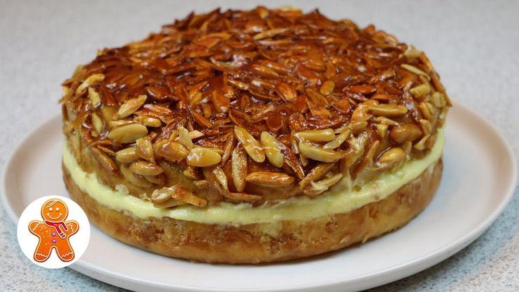 """Пирог торт """"Укус пчелы"""" (Bienenstich) ✧ Bee Sting Cake Recipe"""