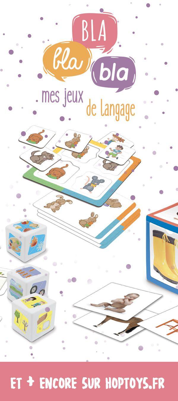 Au jour le jour, le langage est partout ! Les activités de la vie quotidienneet aussi les jouets peuvent servir de toile de fond pour développer le vocabulaire, inventer des histoires et découvrir l'écrit. Alors pour Noël, offrez des jeux éducatifs pour stimuler le langage ! Apprendre en s'amusant c'est bien plus marrant !Afficher tout