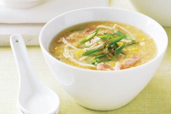 a warming chicken corn #soup #recipe for Thermomix from @Organised_house