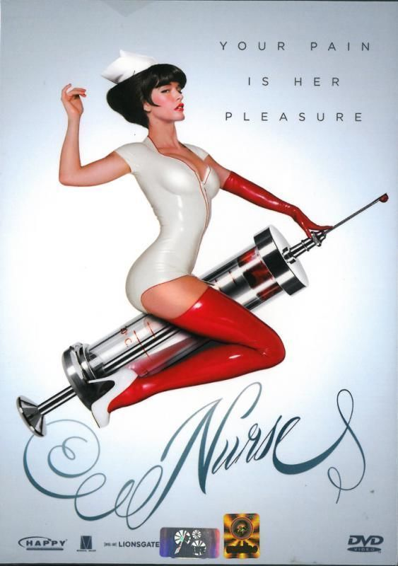 Nurse (2013) [DVD PAL Color] Corbin Bleu, Paz de la Huerta, Sexy Cult Horror