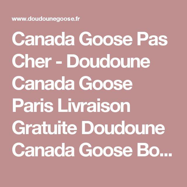 Manteau canada goose liquidation