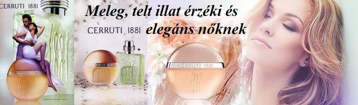 Cerruti 1881 pour femme női parfüm  Meleg, telt illat érzéki és elegáns nőknek.  http://www.parfumdivat.hu/parfumdivathazak/cerruti-1881-pour-femme-noi-parfum.html