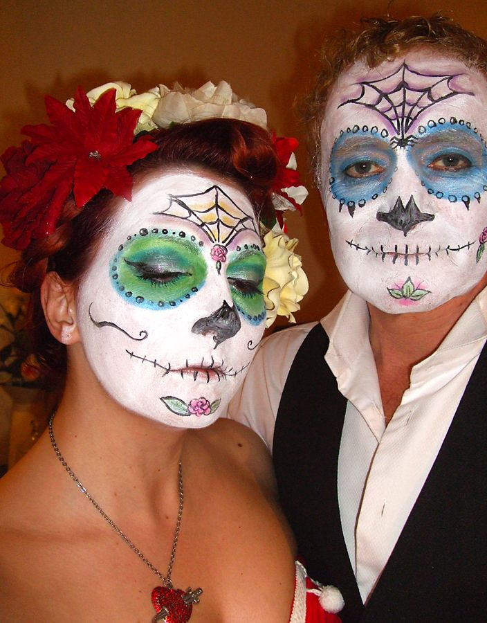 day of the dead makeup couple - photo #26