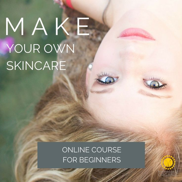 Learn online how to make your own skincare at home. 100% natural and easy, with detailed information on ingredients, where to find them and more than 100 recipes possible, customized to your skin type
