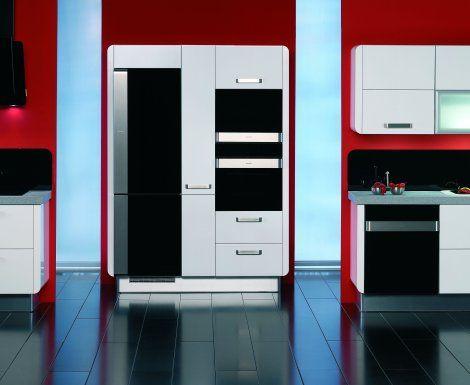 Moderní designová kuchyně Delta. Kuchyně a spotřebiče jedné značky - gorenje. #kuchyně #design #interiér #domov #gorenje