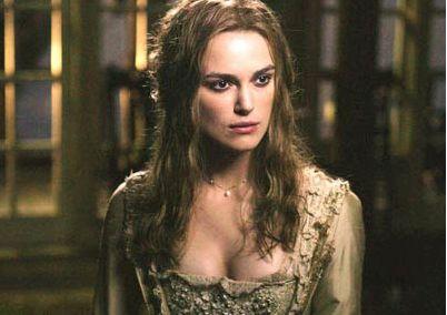 Elizabeth swann movie costume monday elizabeth swann wedding dress