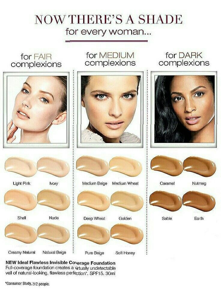 The incredible foundation flawless. For that beautiful look!  Http://shop.avon.com/store/carey