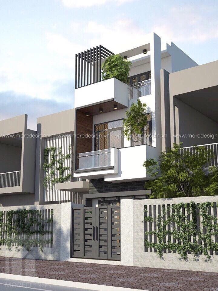 MOREDESIGN™ tổng hợp và giới thiệu Mẫu mặt tiền nhà phố 2 tầng đẹp, phong cách kiến trúc hiện đại. Dạng công trình nhà phố tại Việt Nam thường có diện tích chiều ngang phổ biến từ 4 đến 7m,...